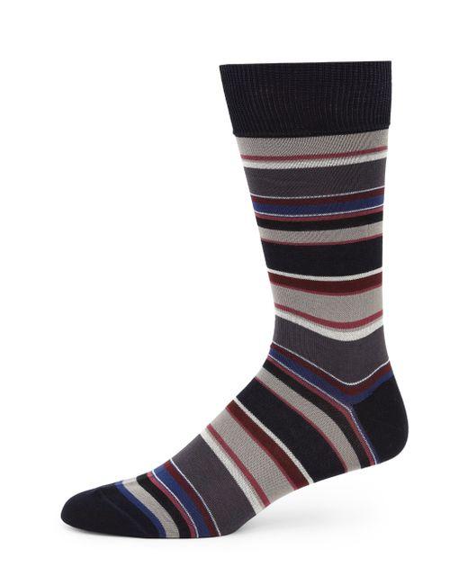 Paul Smith   Blue Albermarle Multi-striped Socks for Men   Lyst