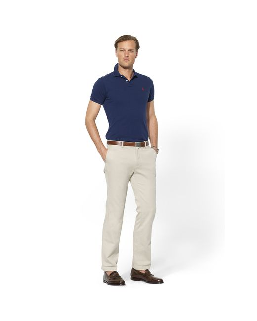 Polo Ralph Lauren | Natural Classic-fit Essential Chino for Men | Lyst