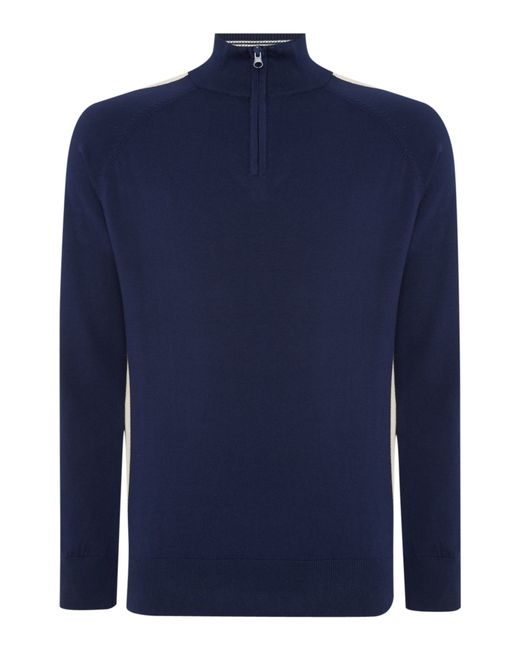 Duck and Cover | Blue Dynamo Crew Neck Knitwear for Men | Lyst