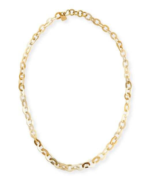 Ashley Pittman | Metallic Mini Mara Light Horn Necklace | Lyst