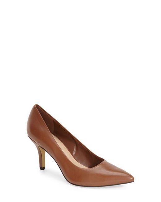 Bella Vita | Brown 'Define' Pointy Toe Pump | Lyst