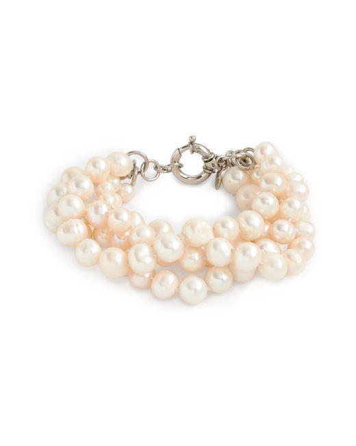 J.Crew | White Freshwater Pearl Hammock Bracelet | Lyst