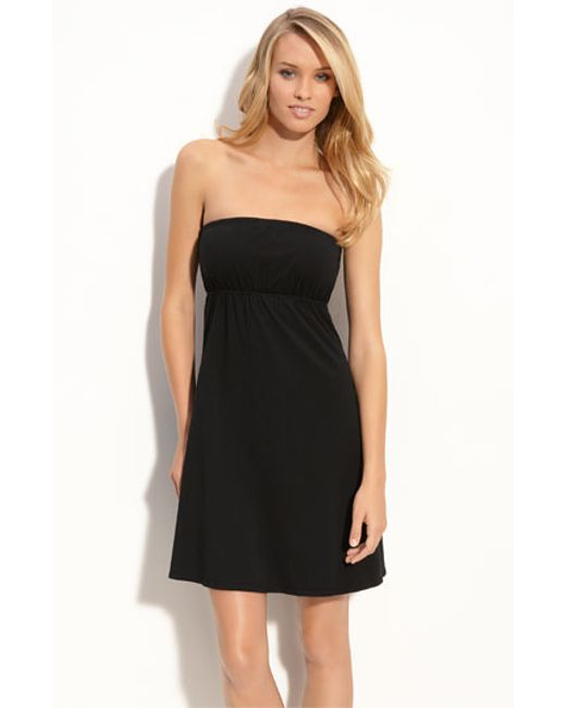 Hard Tail | Blue Strapless Cover-up Dress | Lyst