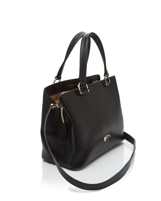 Longchamp | Black Honore 404 Small Satchel | Lyst