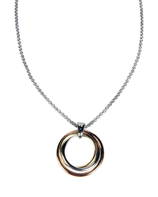 Fossil | Metallic Necklace | Lyst
