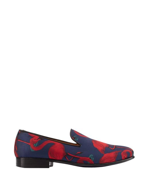 Marc Jacobs | Blue Flamingo Printed Satin Loafers - Multicolor | Lyst