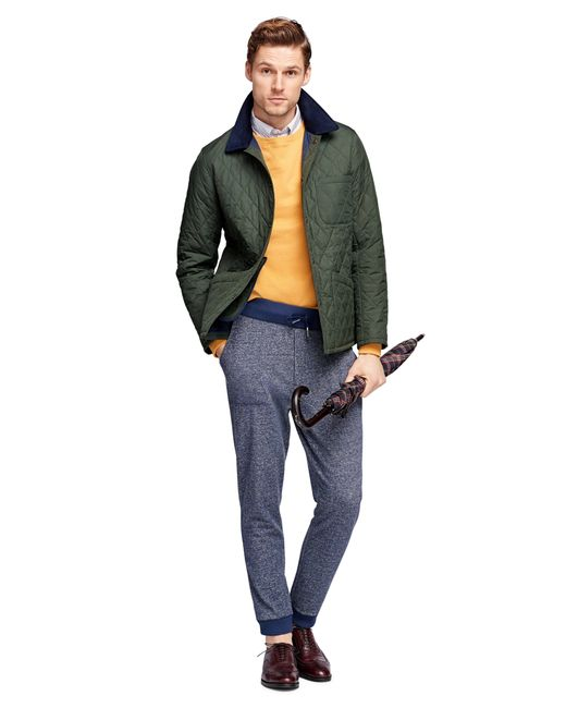 Brooks Brothers | Green Quilted Jacket | Lyst
