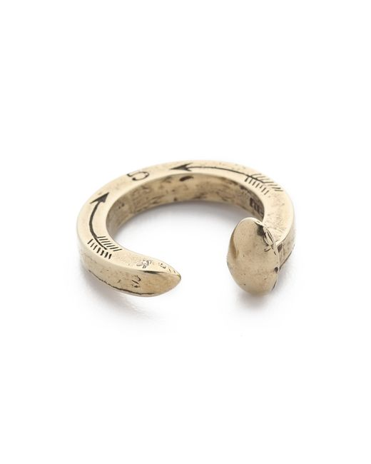 Giles & Brother | Metallic Original Railroad Spike Ring for Men | Lyst