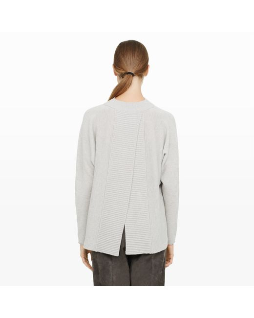 Club Monaco   Gray Lorrin Cashmere Sweater   Lyst