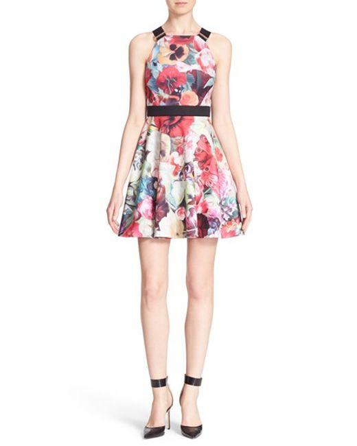 a52c251b09ec56 Ted Baker Floral Swirl Tunic Dress