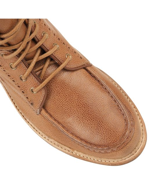 Frank Wright | Brown Angel Mens Lace-up Boots for Men | Lyst