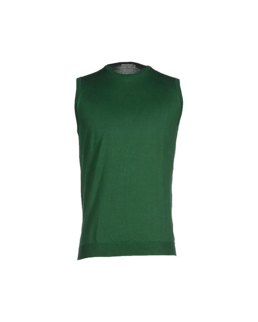 Roberto Collina | Green Jumper for Men | Lyst