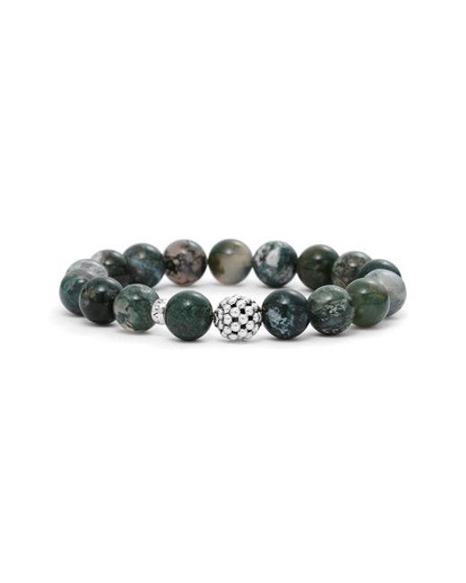 Lagos   Black Bead Stretch Bracelet   Lyst