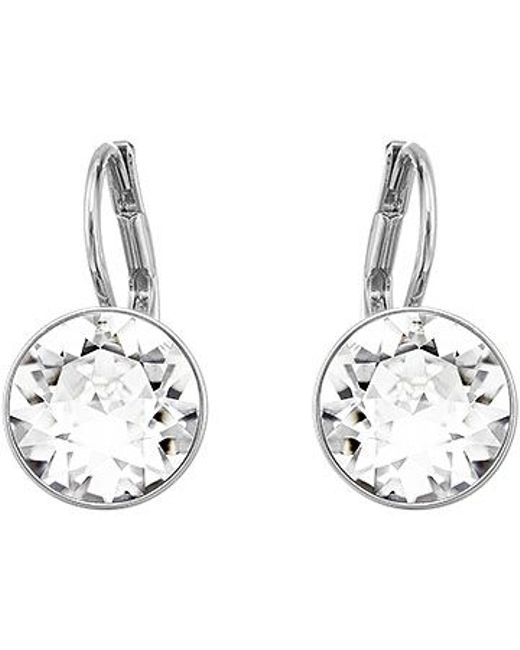Swarovski | Metallic Bella Mini Pierced Earrings | Lyst