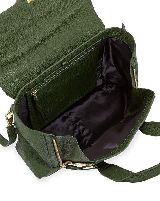 3.1 Phillip Lim | Green Pashli Medium Zip Satchel Bag | Lyst