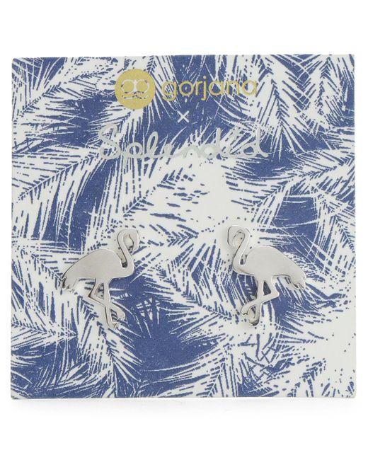 Splendid | Metallic Gorjana Flamingo Stud Earrings | Lyst