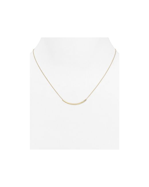Dogeared | Metallic Balance Tube Necklace, 18"