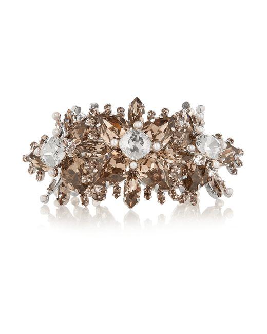 Givenchy | Gray Palladium-tone Swarovski Crystal Bracelet | Lyst