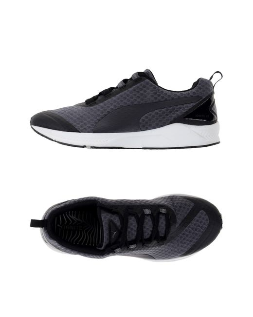 Mens Grey Puma Two Tone Shoes