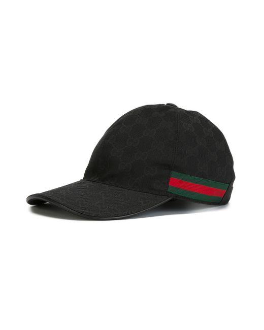 gucci original gg canvas baseball hat in multicolor for