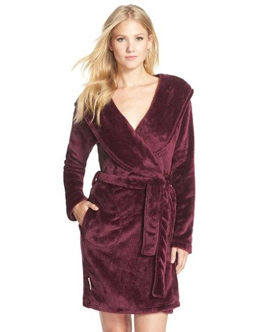 UGG | Purple Ugg Australia 'miranda' Robe | Lyst