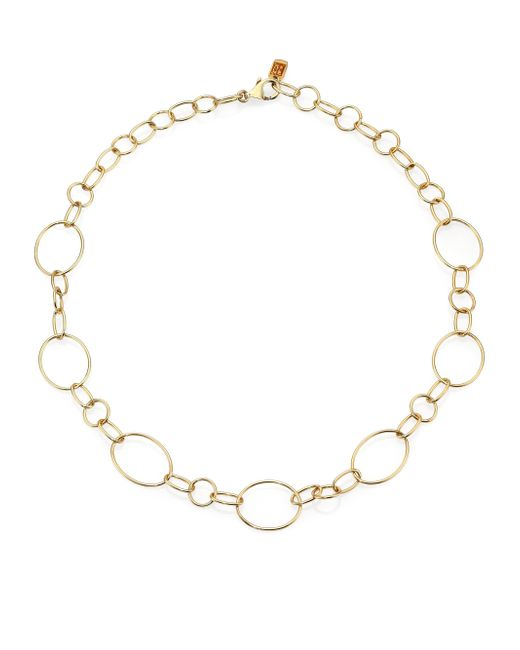 Ippolita | Metallic Glamazon 18k Yellow Gold Link Necklace/18 | Lyst