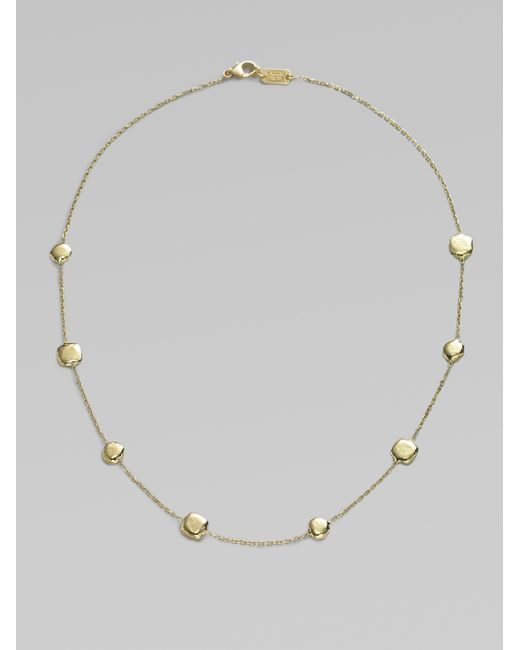 Ippolita | Metallic Glamazon 18k Yellow Gold Pinball Short Station Necklace | Lyst