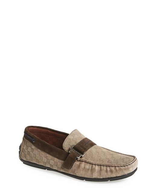 Bacco Bucci | Brown 'rio' Driving Shoe for Men | Lyst