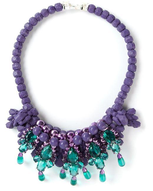 EK Thongprasert | Purple 'De Poisson' Necklace | Lyst