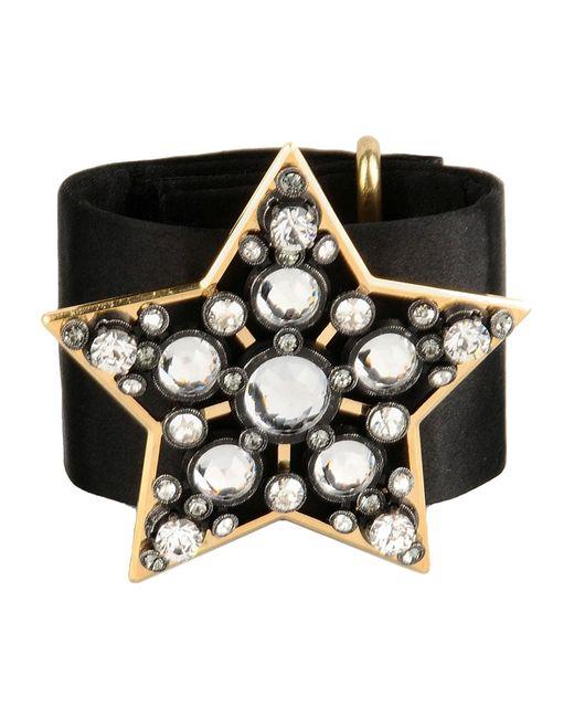 Lanvin   Black Bracelet   Lyst