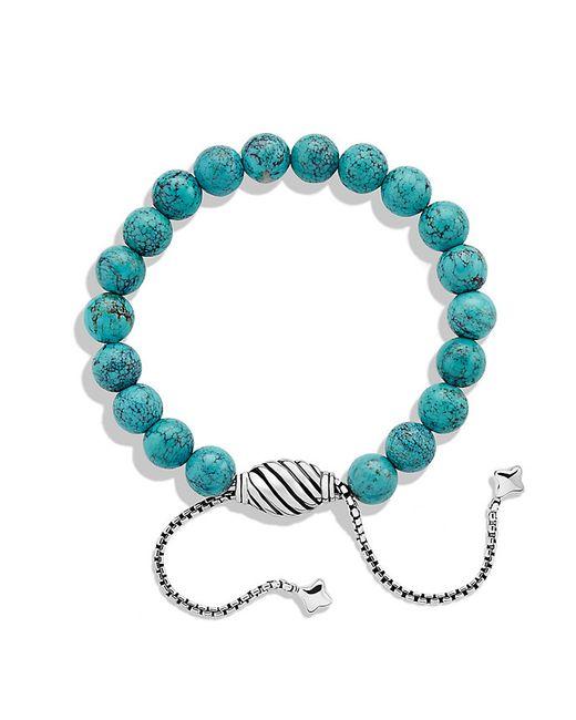 David Yurman | Blue Spiritual Beads Bracelet With Turquoise | Lyst