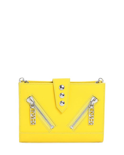 KENZO | Yellow Kalifornia Cross Body Bag - Citron | Lyst