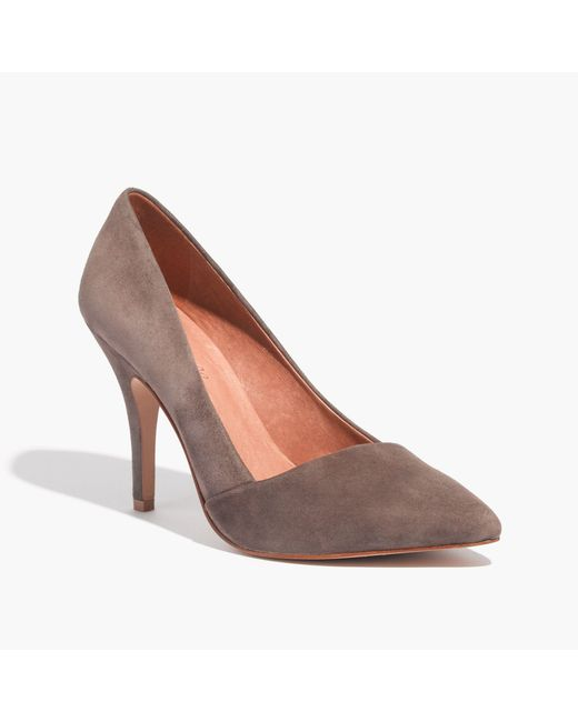 Madewell | Brown The Mira Heel | Lyst