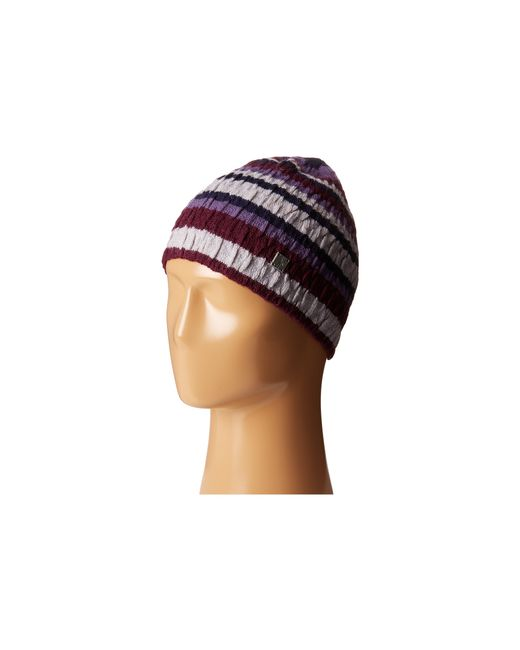 Smartwool | Purple Striped Chevron Hat | Lyst