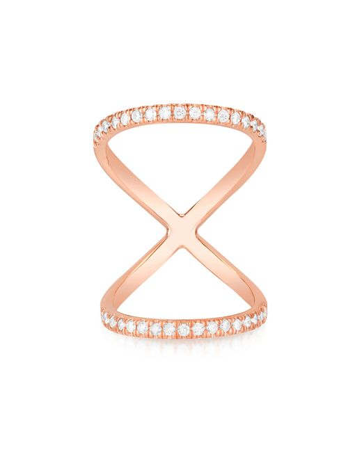 Carbon & Hyde | Pink Olympia Mid-finger Ring | Lyst