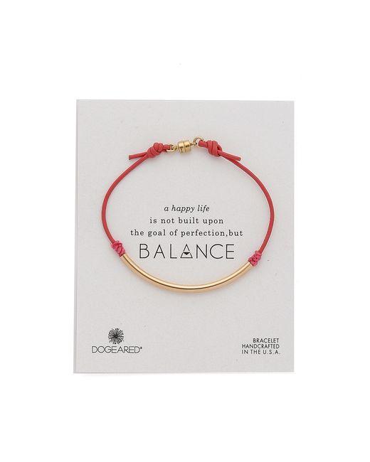 Dogeared | Pink Balance Tube Bracelet | Lyst