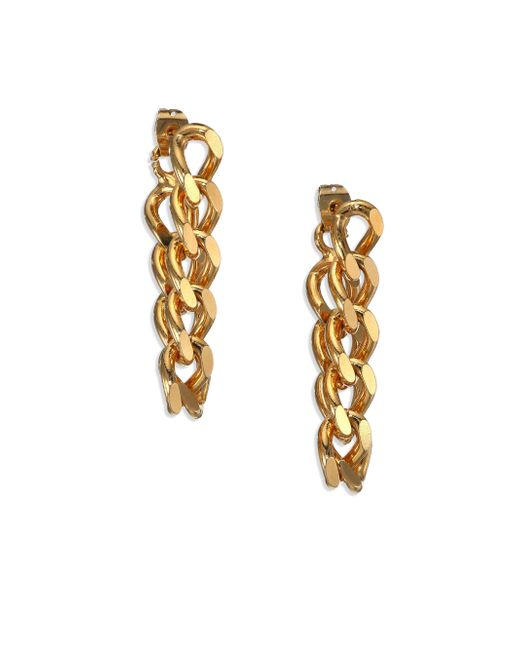 House of Lavande | Metallic Indah Chain Drop Earrings | Lyst