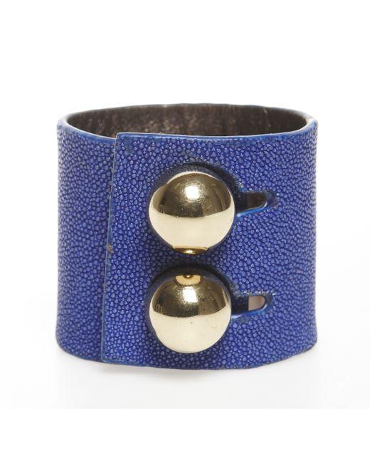 Rachael Ruddick | Blue Wide Cuff | Lyst