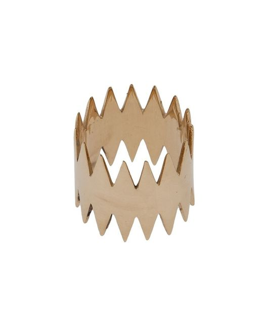 Annelise Michelson   Metallic 'double Carnivore' Ring   Lyst