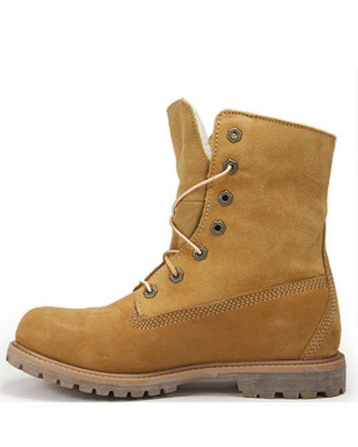 Lastest Timberland Womens Authentics Teddy Fleece FoldDown Boots