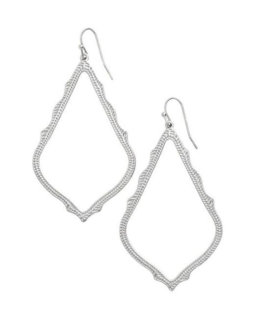 Kendra Scott | Metallic 'sophee' Textured Drop Earrings | Lyst