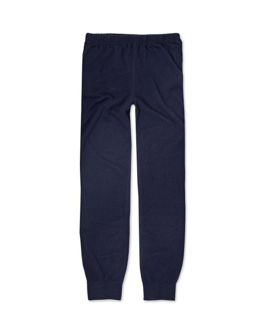 Sunspel | Blue Men's Cashmere Track Pant for Men | Lyst