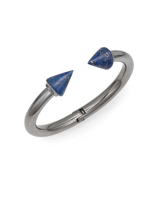 Vita Fede   Metallic Titan Lapis Bracelet/gunmetal-tone   Lyst