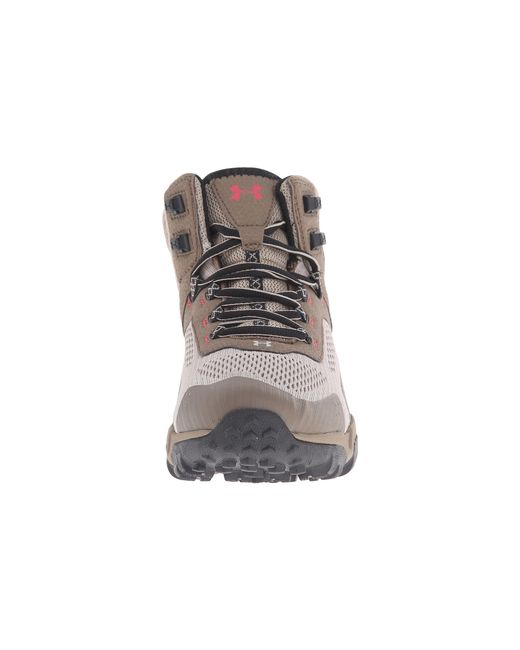 Under Armour | Brown Ua Glenrock Mid | Lyst