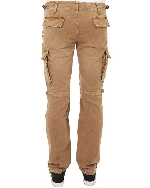 Elegant Napapijri Cargo Pants In Beige  Lyst