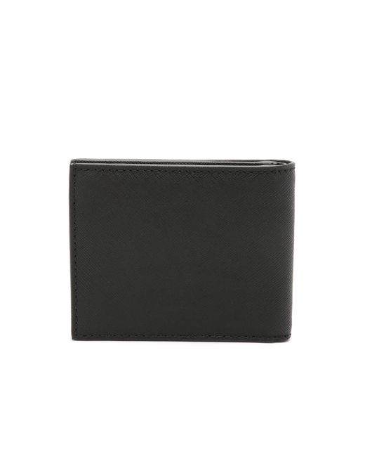 Jack Spade | Black Barrow Leather Slim Billfold for Men | Lyst