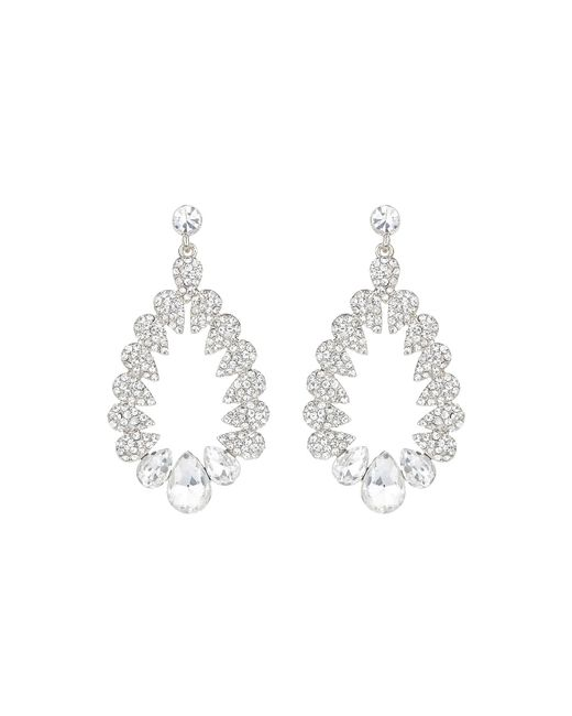 Mikey | Metallic Multi Oval Marquise Filligree Earring | Lyst