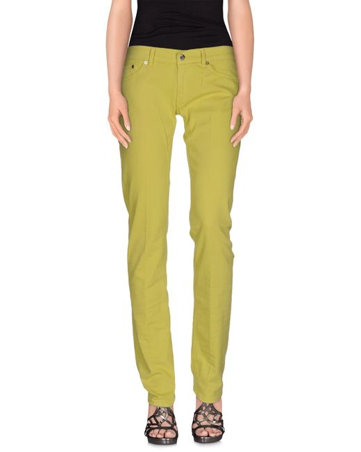 Dondup | Green Denim Pants | Lyst
