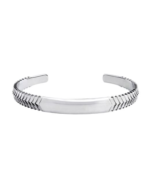 Stephen Webster | Metallic Men's Chevron Cuff Bracelet for Men | Lyst