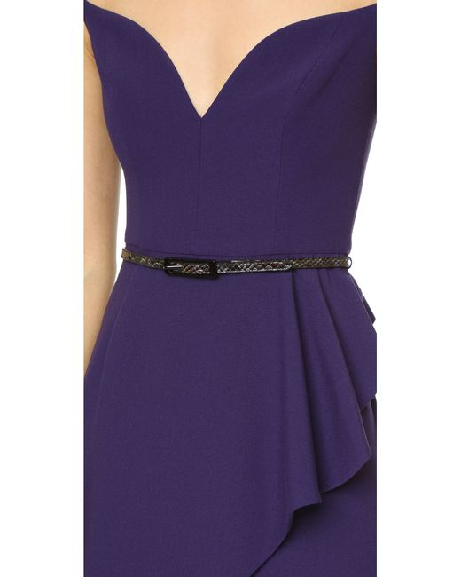 Black Halo | Purple Eve Prestige Gown - Red | Lyst